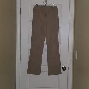 Pinstripe Stretch Jeans